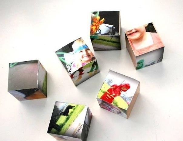 Кубики из фотографий своими руками 31