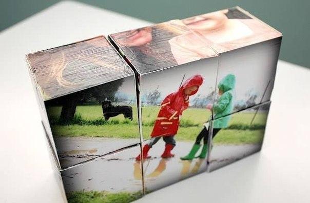 Фото на кубиках своими руками 10